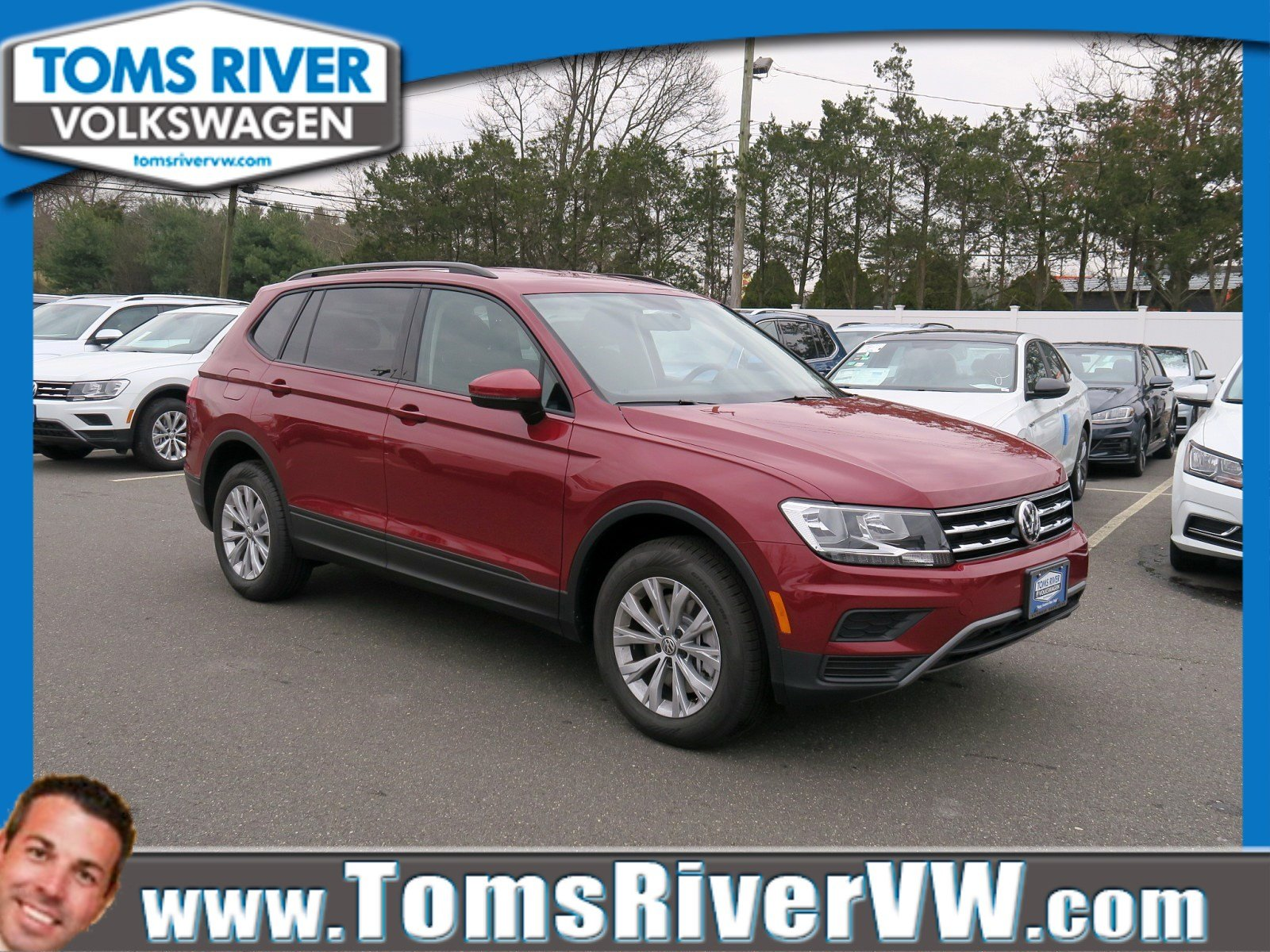 New 2019 Volkswagen Tiguan S With 4motion Sport Utility In Toms