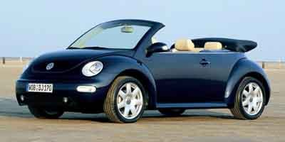 Pre-Owned 2003 Volkswagen New Beetle Convertible GLS