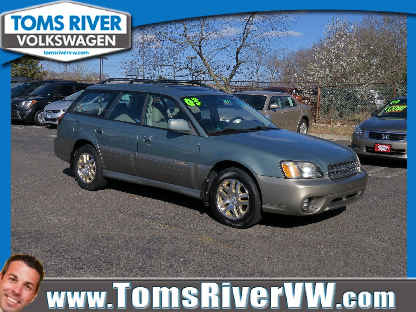 Pre-Owned 2003 Subaru Legacy Wagon Outback Ltd