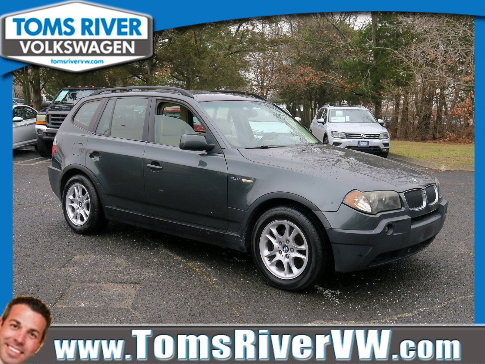 Pre-Owned 2004 BMW X3 2.5i